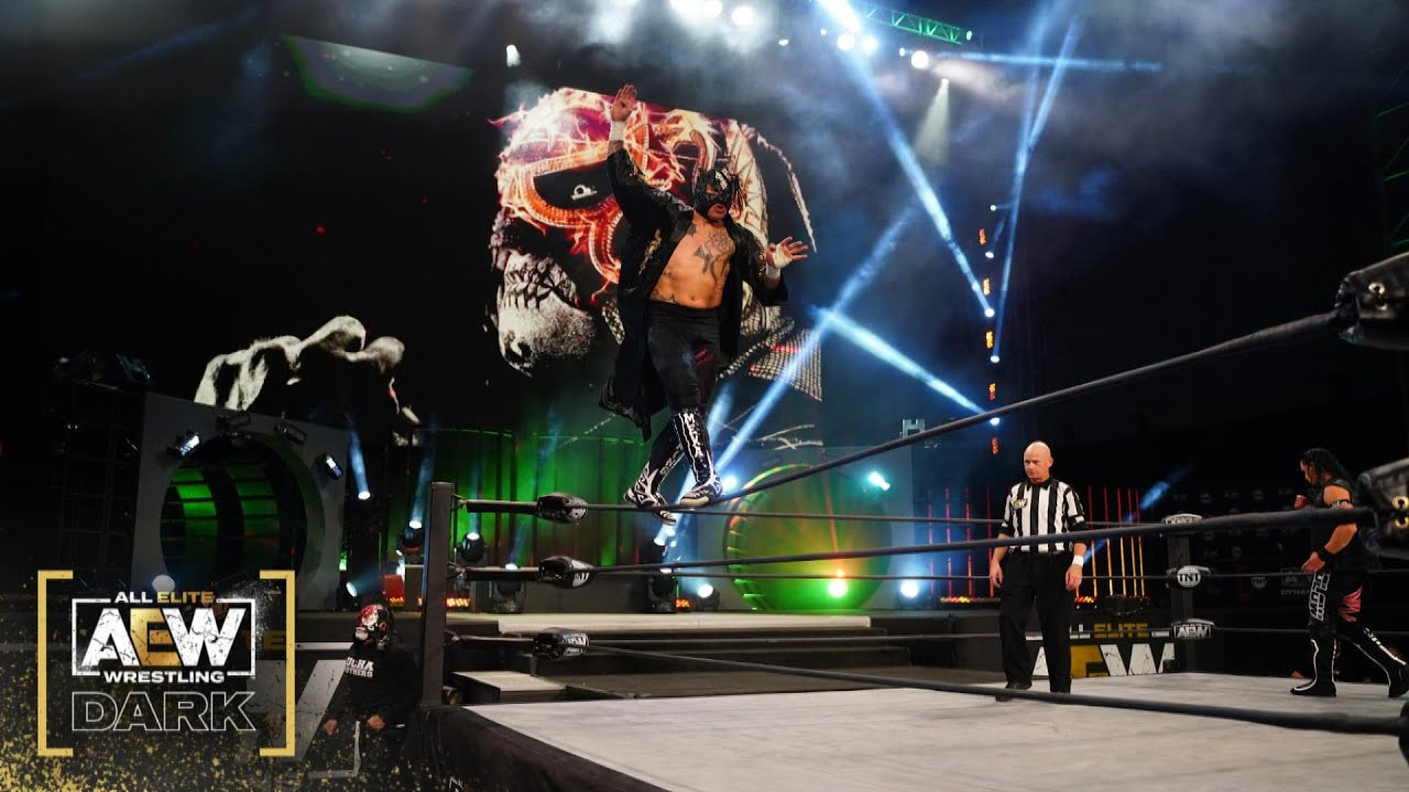 Rey Fenix with Penta El Zero Miedo vs Aaron Solow | AEW Dark 1/5/20
