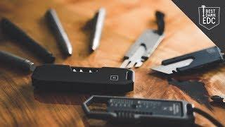 8 EDC Titanium Pocket Tools by Big Idea Design | Everyday Carry