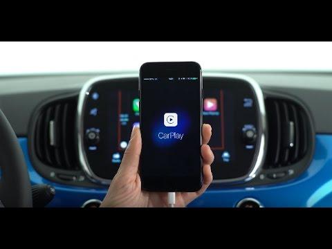 Fiat 500 Mirror - Mappe - Apple CarPlay