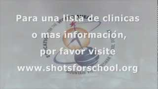 PSA- TDAP Booster Shots (Spanish)