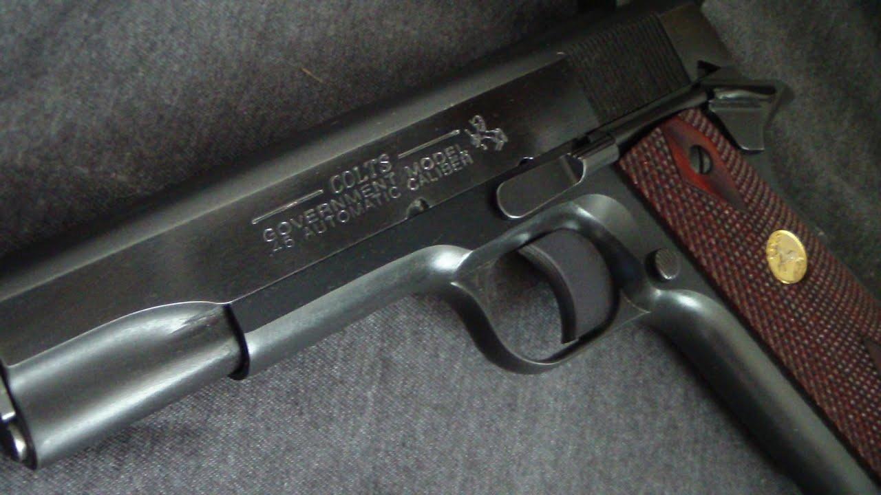 Colt 1911 Government model (range review)