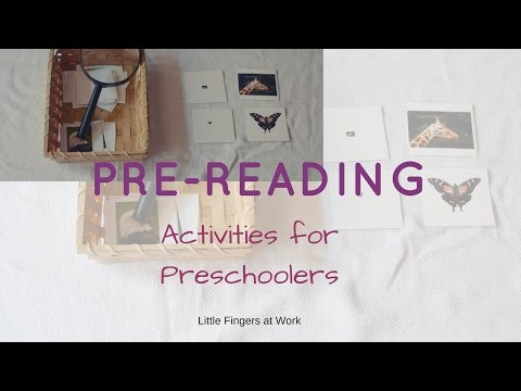8 Ways to Teach Pre-Reading Activities for Preschoolers