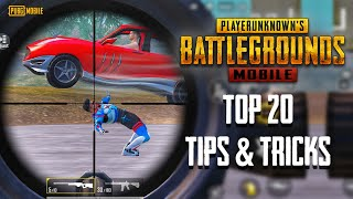 Top 20 Tips \u0026 Tricks in PUBG Mobile | Ultimate Guide To Become a Pro #16