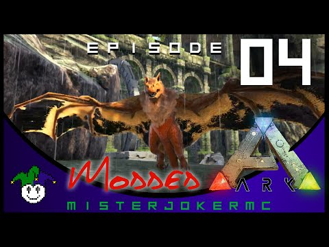 Ark Modded Survival Gameplay - 04 - Wild Apex Onyx Attack Power w/ xBCrafted