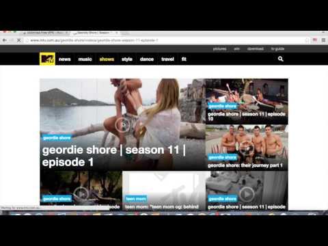 How to access American websites netflix, mtv, freeform etc