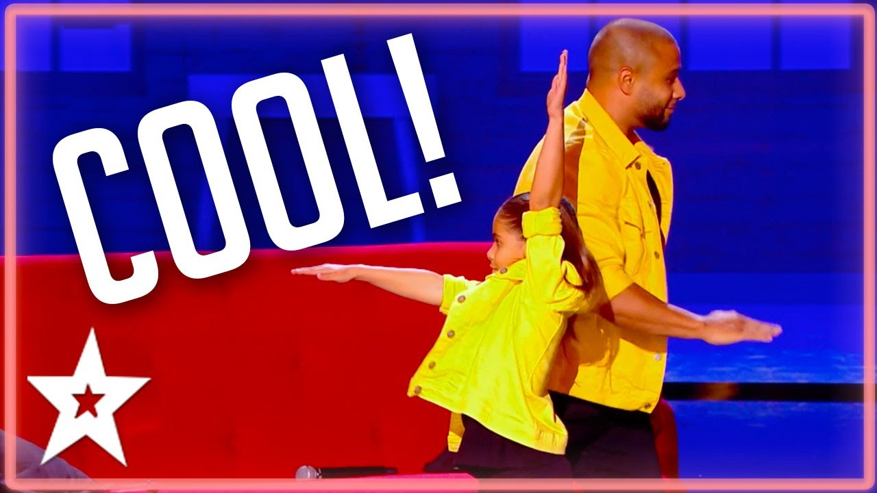 DANCERS Father & Daughter Bust Some Moves! | Kids Got Talent