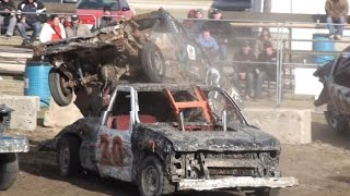 Brigden Fall Demolition Derby 2015 | Trucks