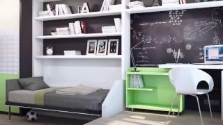 видео Дизайн детской для мальчика