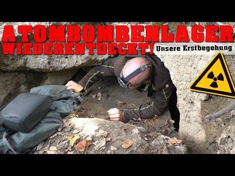 Lager für atomare Freifallbomben wiederentdeckt!   urbex - abandoned place - lost place