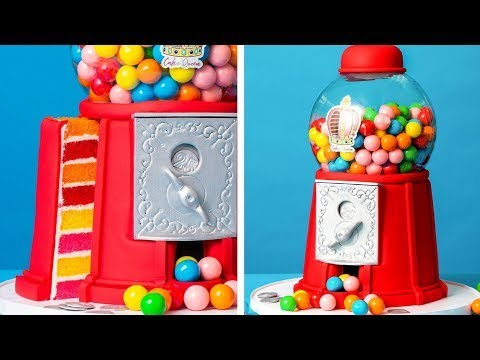 This Gumball Machine Is CAKE  How To Cake It