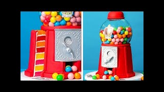 Cut Into This Gumball Machine... | How To Cake It