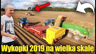 Kopanie Ziemniaków Na Wielka Skalę ☆120 Hektarów! ☆ Trudne Warunki