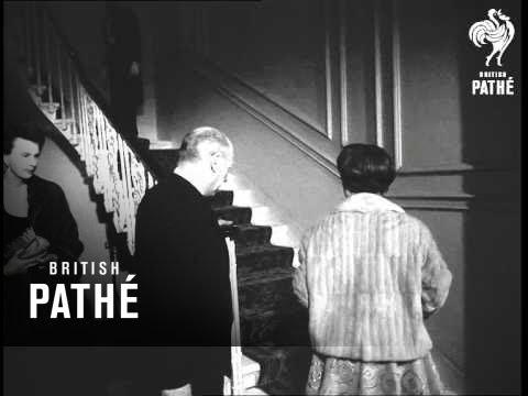 Margaret, Princess Princess Margaret Visits Sadlers Wells Ballet (1958)