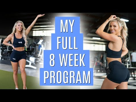 MY FULL 8 WEEK PROGRAM | Ep 1