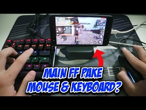 Main Free Fire Di HP Pake Mouse & Keyboard?? (Beboncool Battledock)