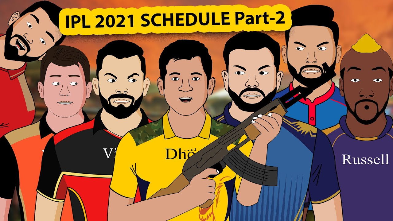 IPL 2021 SCHEDULE PART 2 | Laughter Life With Azgar