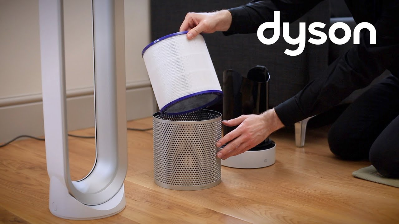Dyson Pure Cool Link tower purifier fan - Replacing the filter (Canada)