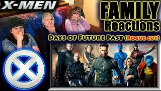 X-Men: Days Of Future Past (Rogue Cut) FAMILY Reactions