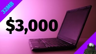 Can This $3,000 Laptop From 2008 Game?