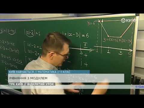 11 клас. Алгебра. Рівняння з модулем