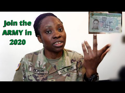 Joining The US ARMY As An Immigrant In 2020 | 9jaabroad