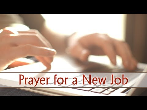 Prayer For New Job Opportunity