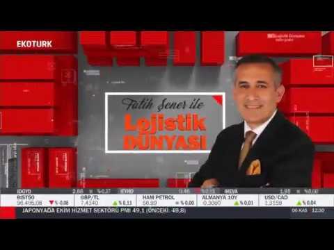 Eko Türk TV, Lojistik Dünyası 17.Bölüm - 06.11.2019- Turhan Özen/Turkish Cargo