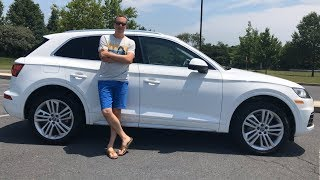 5 COOL FEATURES OF MY 2018 AUDI Q5!