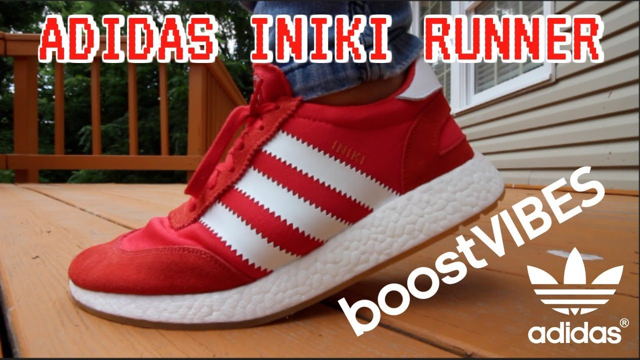 best sneakers 7a0a5 929e8 ADIDAS INIKI RUNNER - YouTube