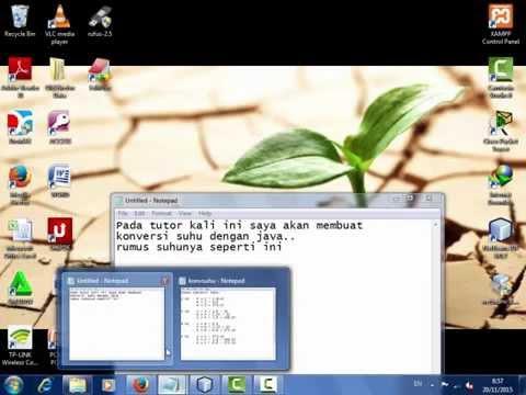Membuat Aplikasi Konversi Suhu Dengan Java