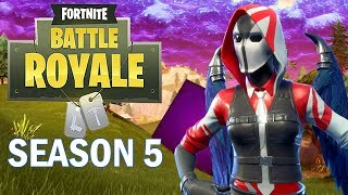 Hunting for Solo Win #100 - Fortnite Battle Royale Gameplay - Xbox One X - Season 5