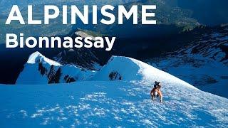 Arête du Tricot intégrale Traversée Aiguille de Bionnassay Mont-Blanc Chamonix alpinisme - 11325
