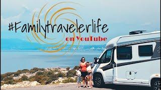 VLog 6 Familytravelerlife Teil 3 Kroatienreise Krk Brücke Camping Jezevac Krk Kroatien 2020