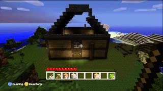 Minecraft:  Xbox 360 - Mansion Build Part 1