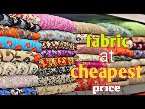 DESIGNER FABRIC AT CHEAP PRICE | CHEAPEST FABRIC MARKET| Fabrics For KURTI,SAREE,LEHENGA |URBAN HILL