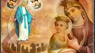 أمنا يا عدرا. يا ام المسيح.... يلي فيكي دايما بيحلوا المديح