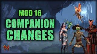 Neverwinter Mod 16 Companion Changes
