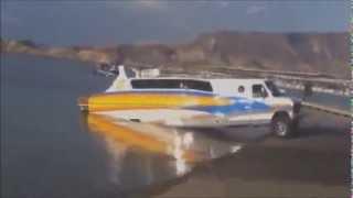 Гибрид лодки и авто