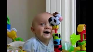 KUMPULAN VIDEO BAYI TERTAWA LUCU ABIS
