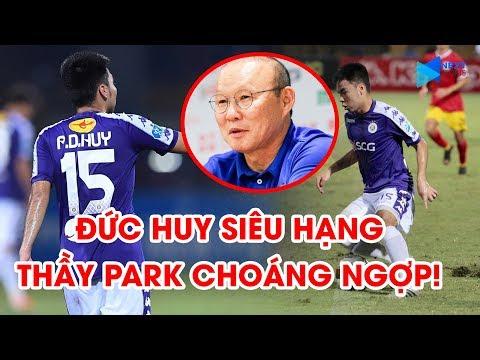 """Phạm Đức Huy   Hà Nội FC   2 siêu phẩm khiến thầy Park """"quẩy"""" trên khán đài   NEXT SPORTS"""