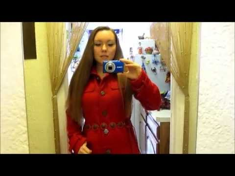 Наряд дня. Верхняя одежда.Весна 2014. Красное пальто от Guess.