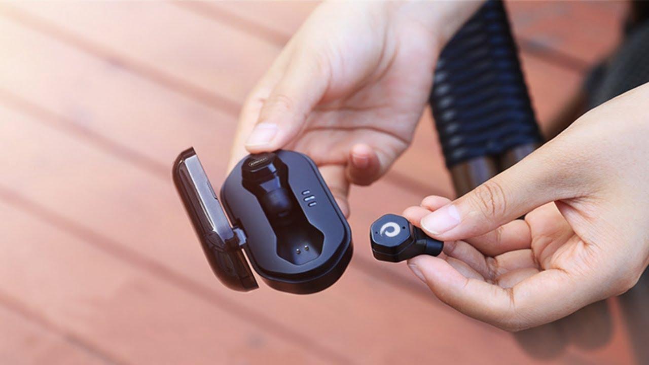 c4224295db8 Langsdom F8 TWS Mini Wireless Earphone.(link in description) - YouTube
