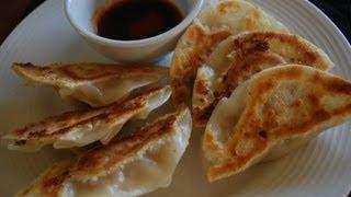 crispy pan fried dumplings