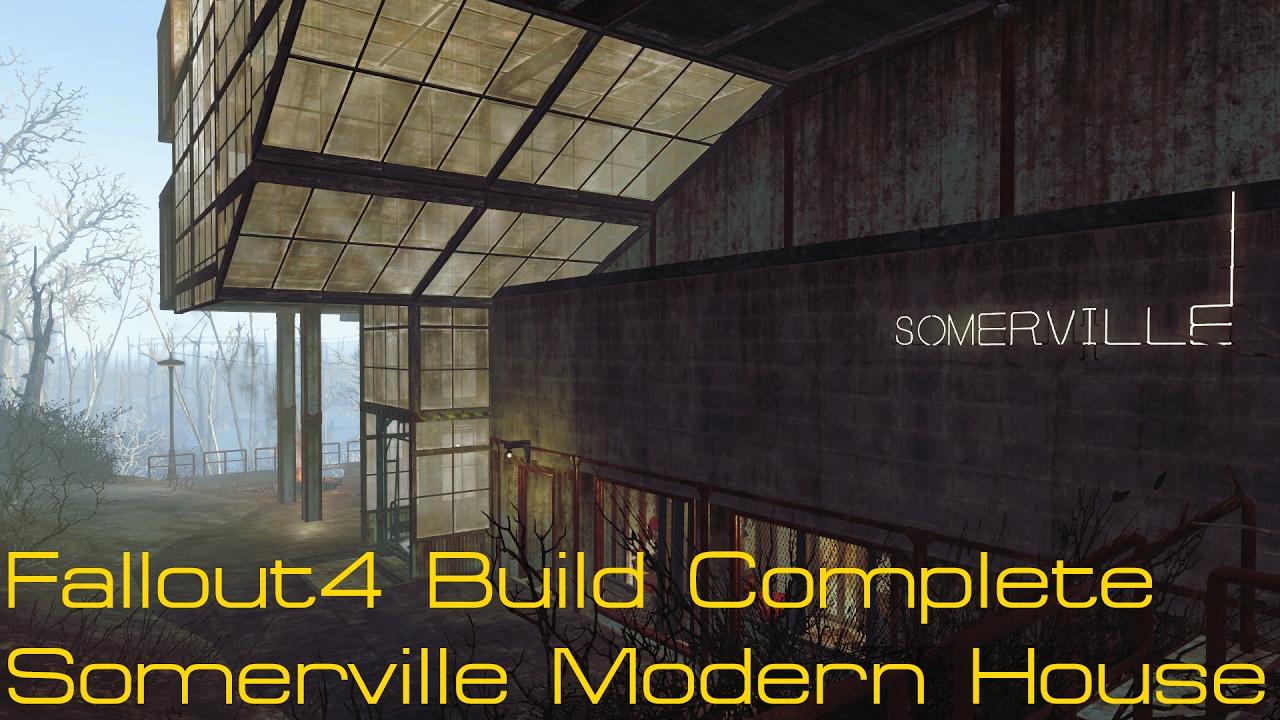 Fallout  Somerville Place Build