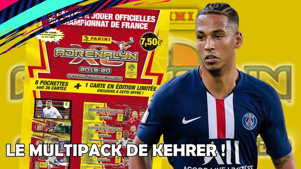 Carte Panini ADRENALYN XL Ligue 1 2019-2020 LEANDRO PAREDES PSG Paris