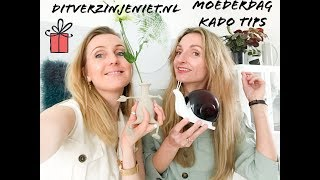 MOEDERDAG KADO TIPS: DITVERZINJENIET.NL & CADEAU.nl