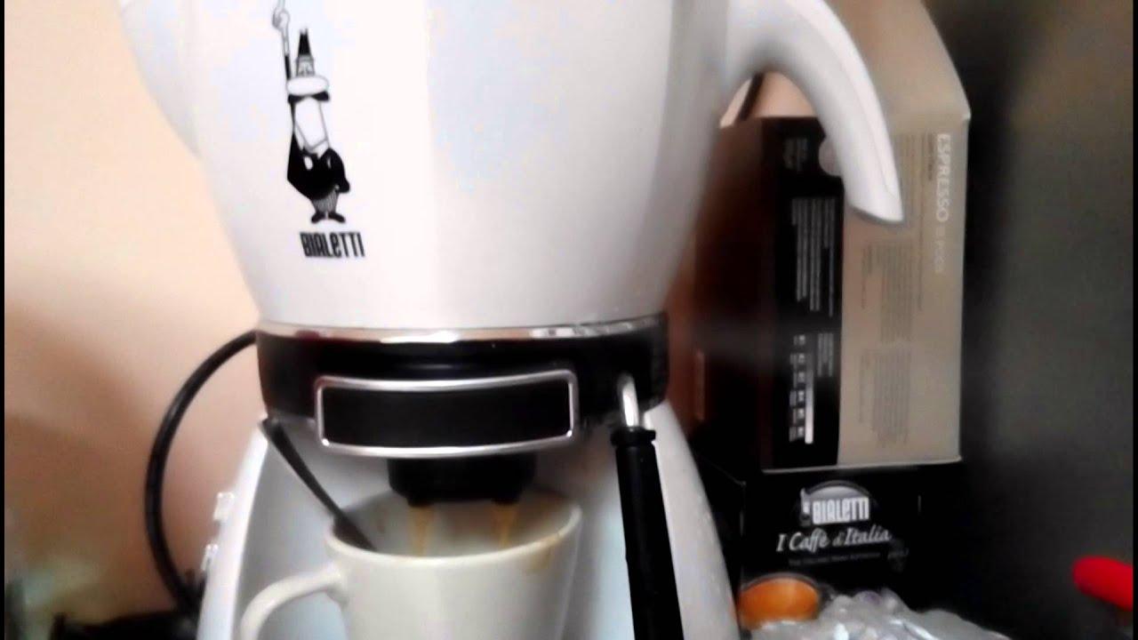 Disfonctionnement Bialetti Mokissima Youtube Espresso Machine Mokona Rossa