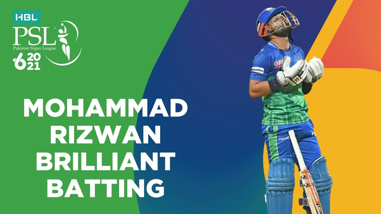 Mohammad Rizwan Brilliant Batting   Peshawar Zalmi vs Multan Sultans   Match 21   HBL PSL 6   MG2T