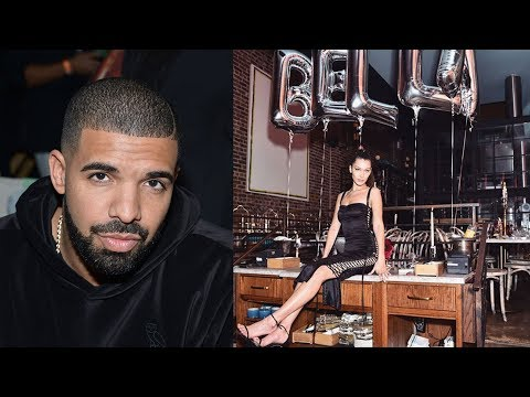 Bella Hadid Celebrates Her 21st Birthday with Drake