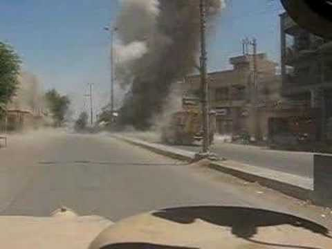Deep burried IED in Adhamiyah - Baghdad Iraq